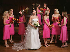 Bridal Party Group Photograph