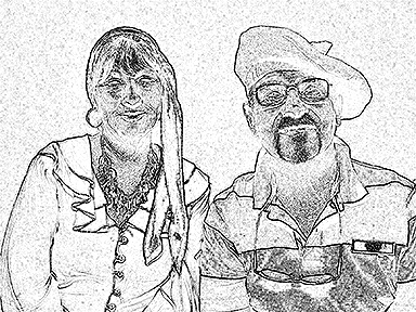 sketch photo booth